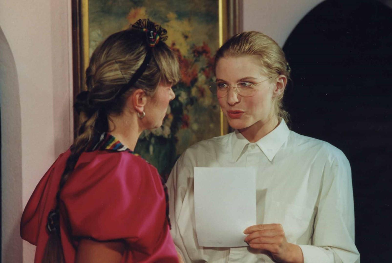 """1998: """"Janine"""" in """"Hier sind sie richtig"""""""