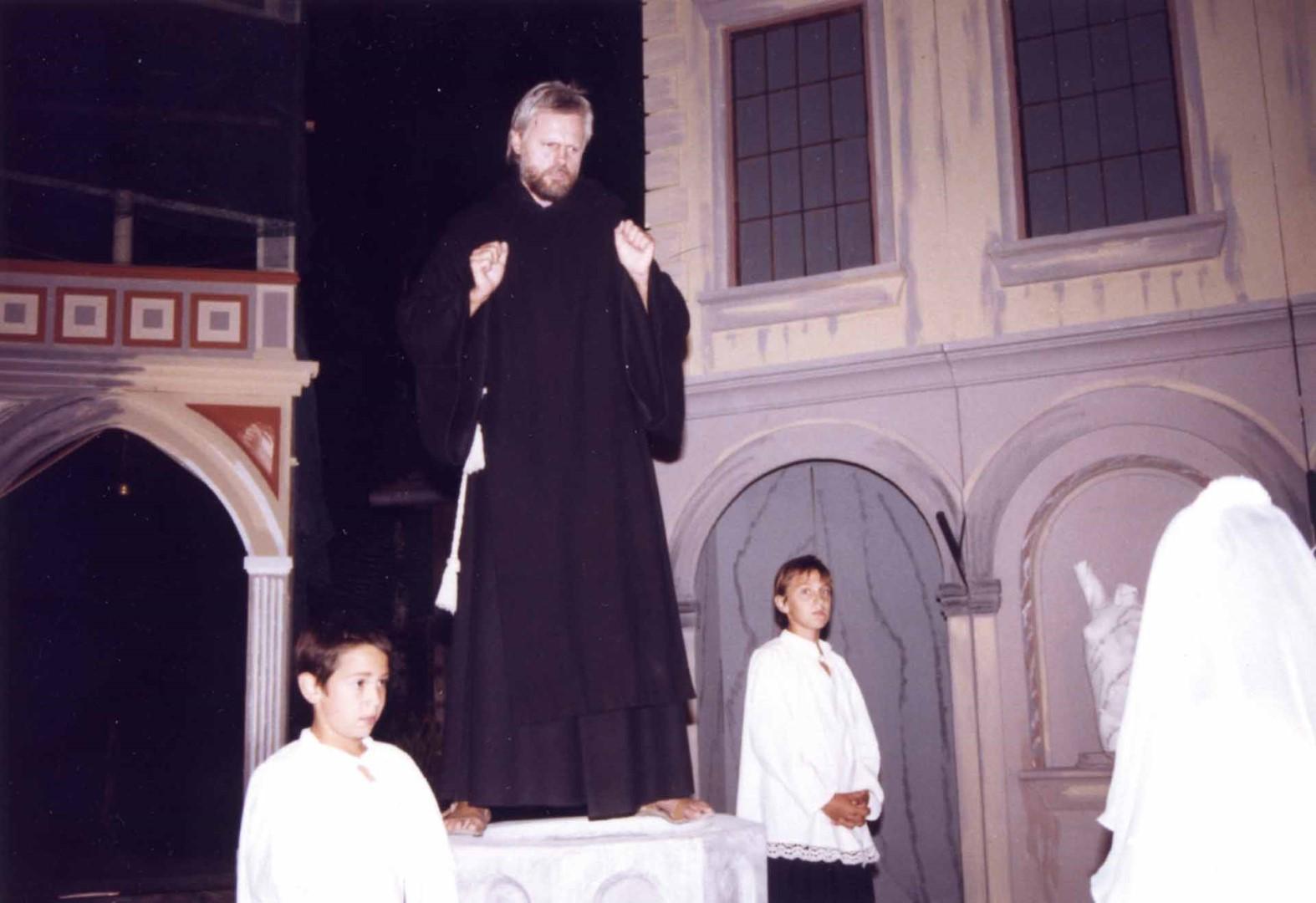 "1990: ""Frater Timoteo"" in ""Mandragola"""