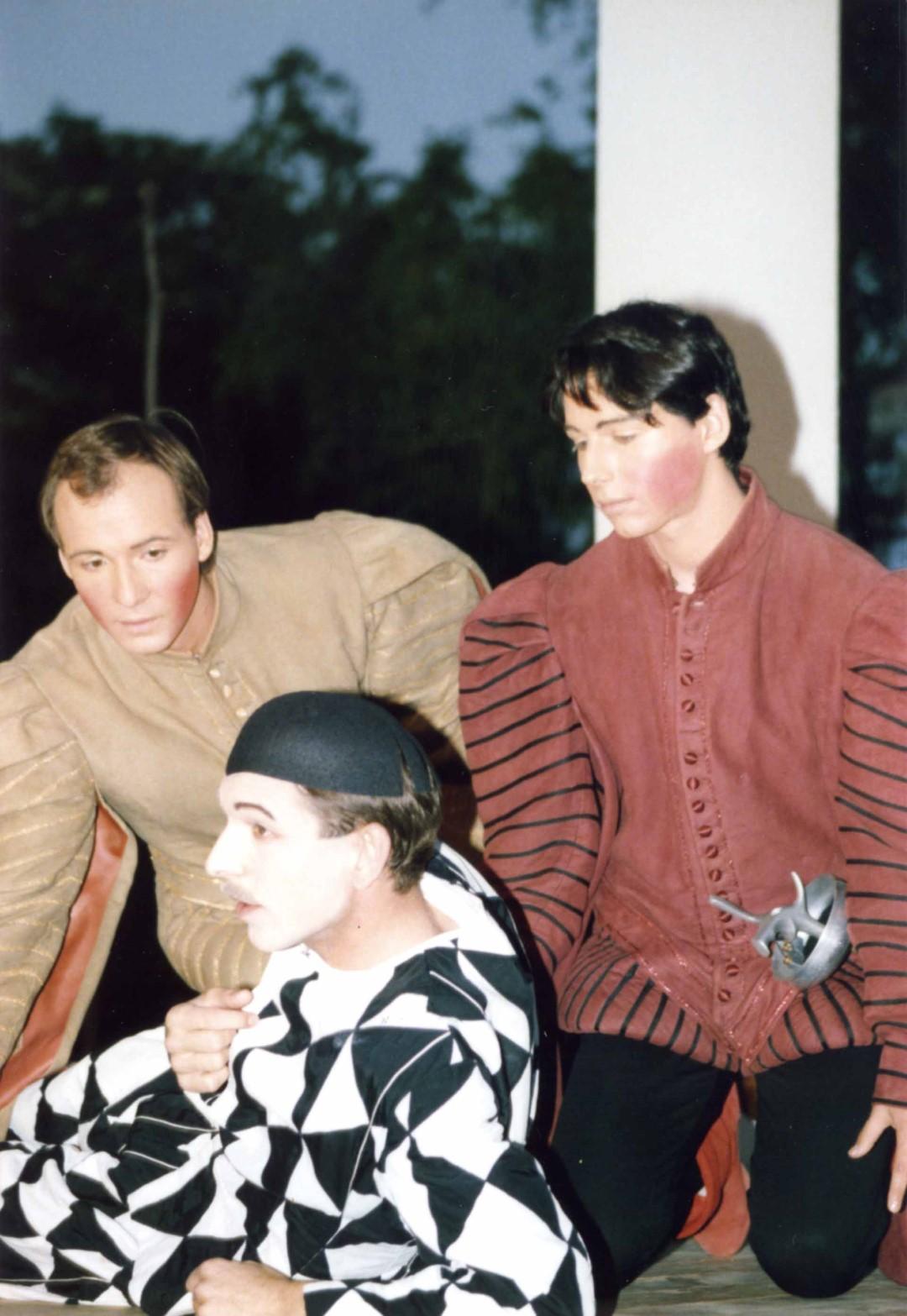 """1987: """"Leander"""" in """"Scapins Schelmenstreiche"""""""