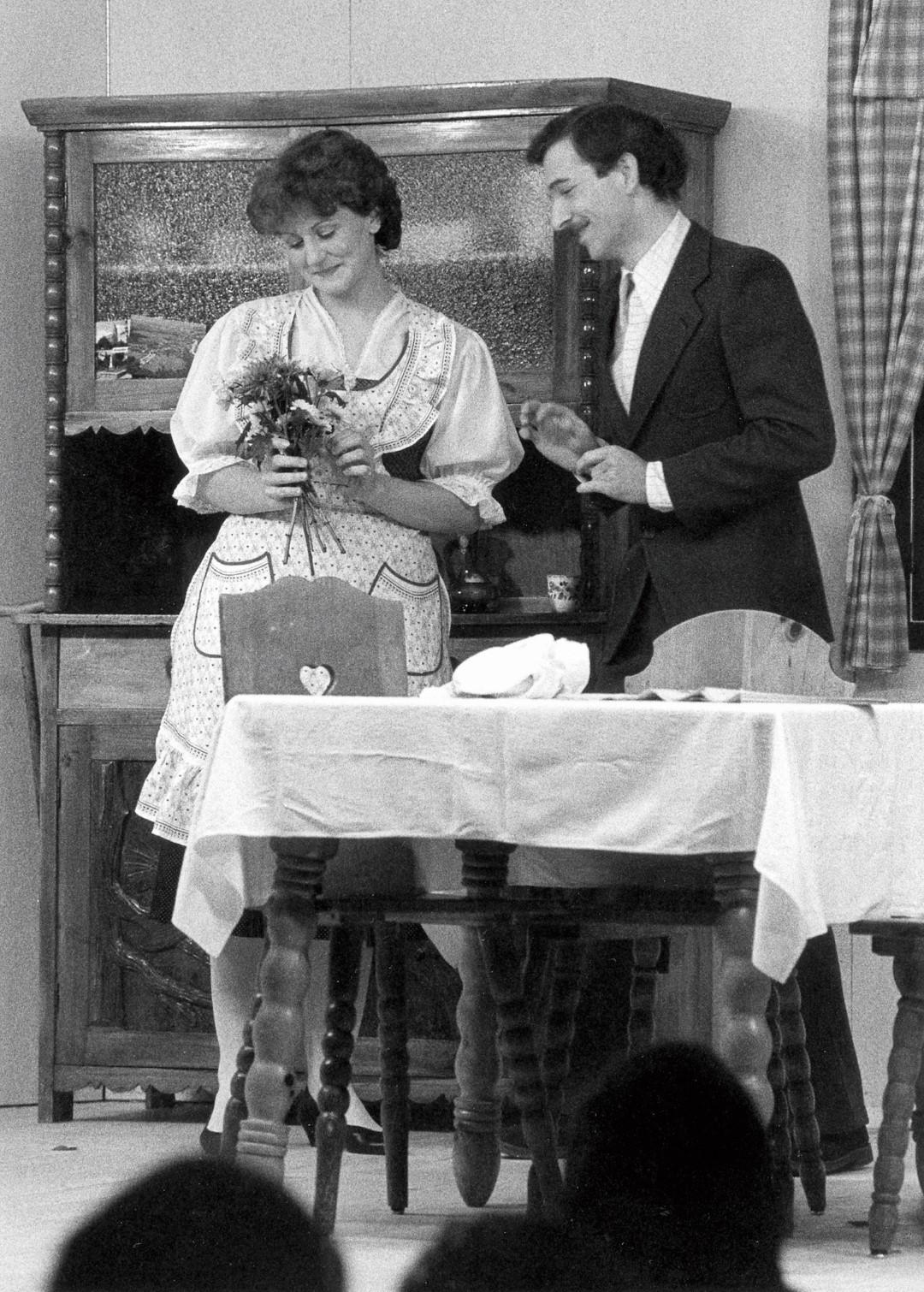 """1985: """"Paula"""" in """"Allerweil die Aufregungen"""""""