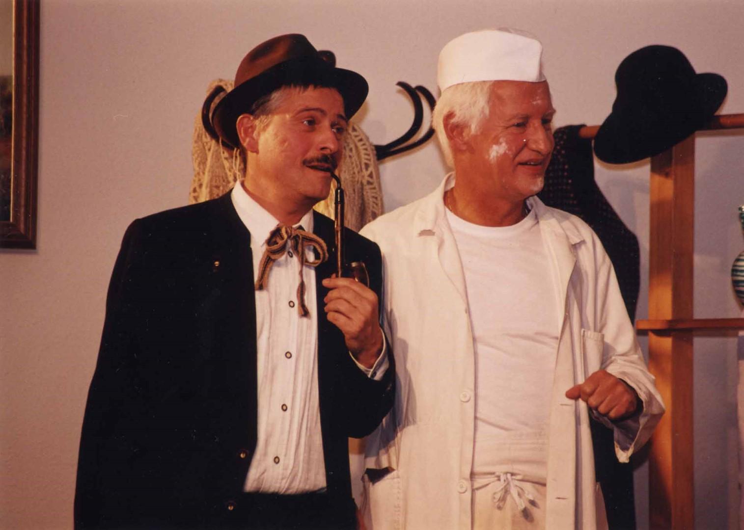 """1999: """"Quirin Riedlechner"""" in """"Die 3 Dorfheiligen"""""""