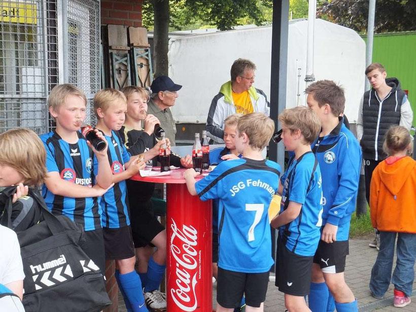 Herzlichen Dank an den TSV Neustadt ! Foto: R.Paul