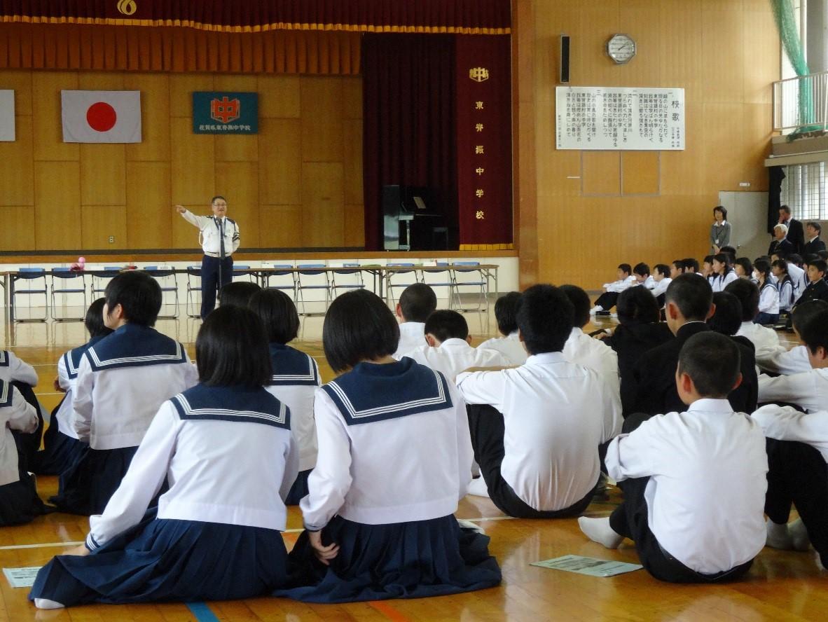 神埼警察署 石橋交通課長の講話