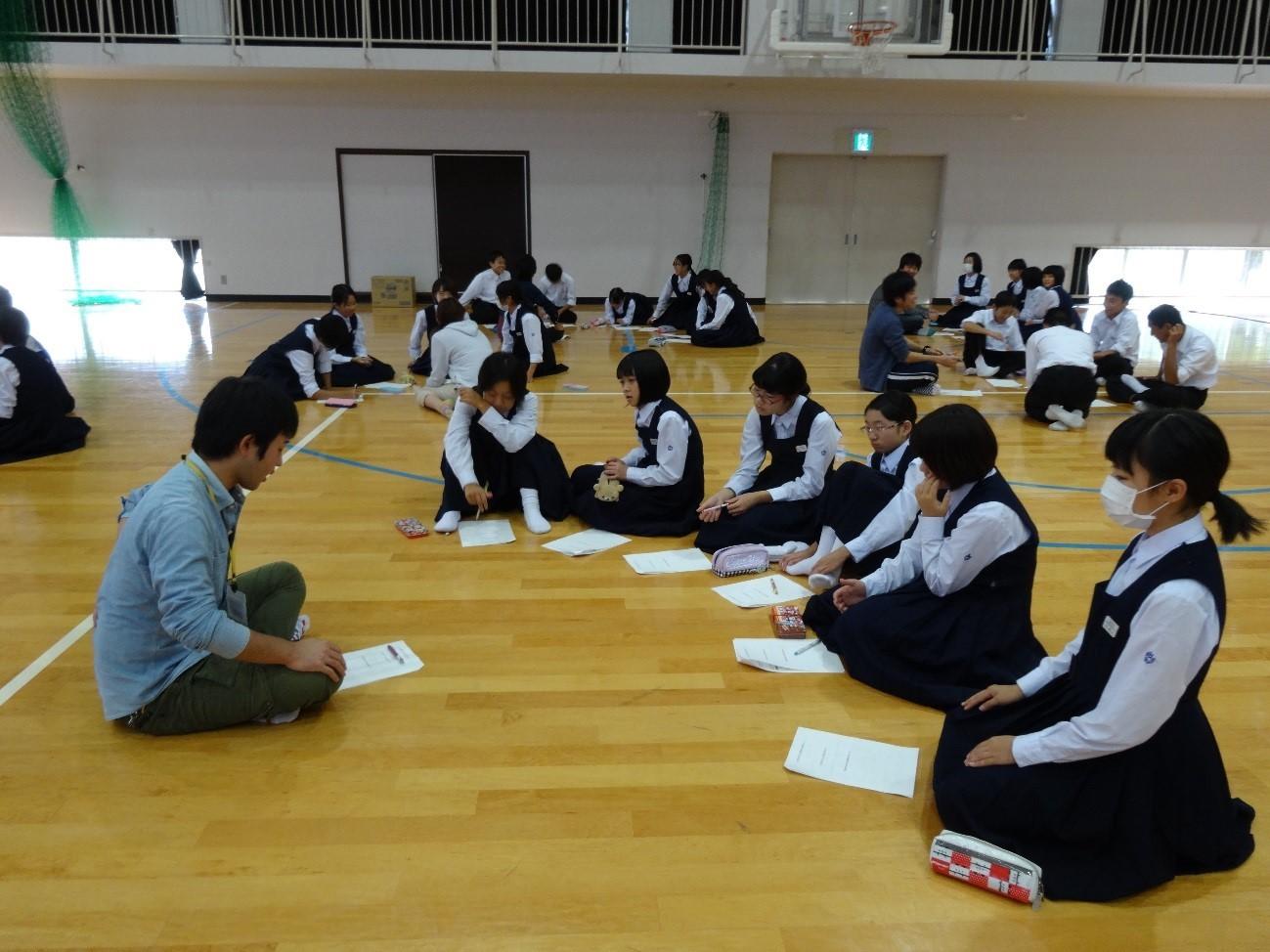 中学生認知症見守り隊