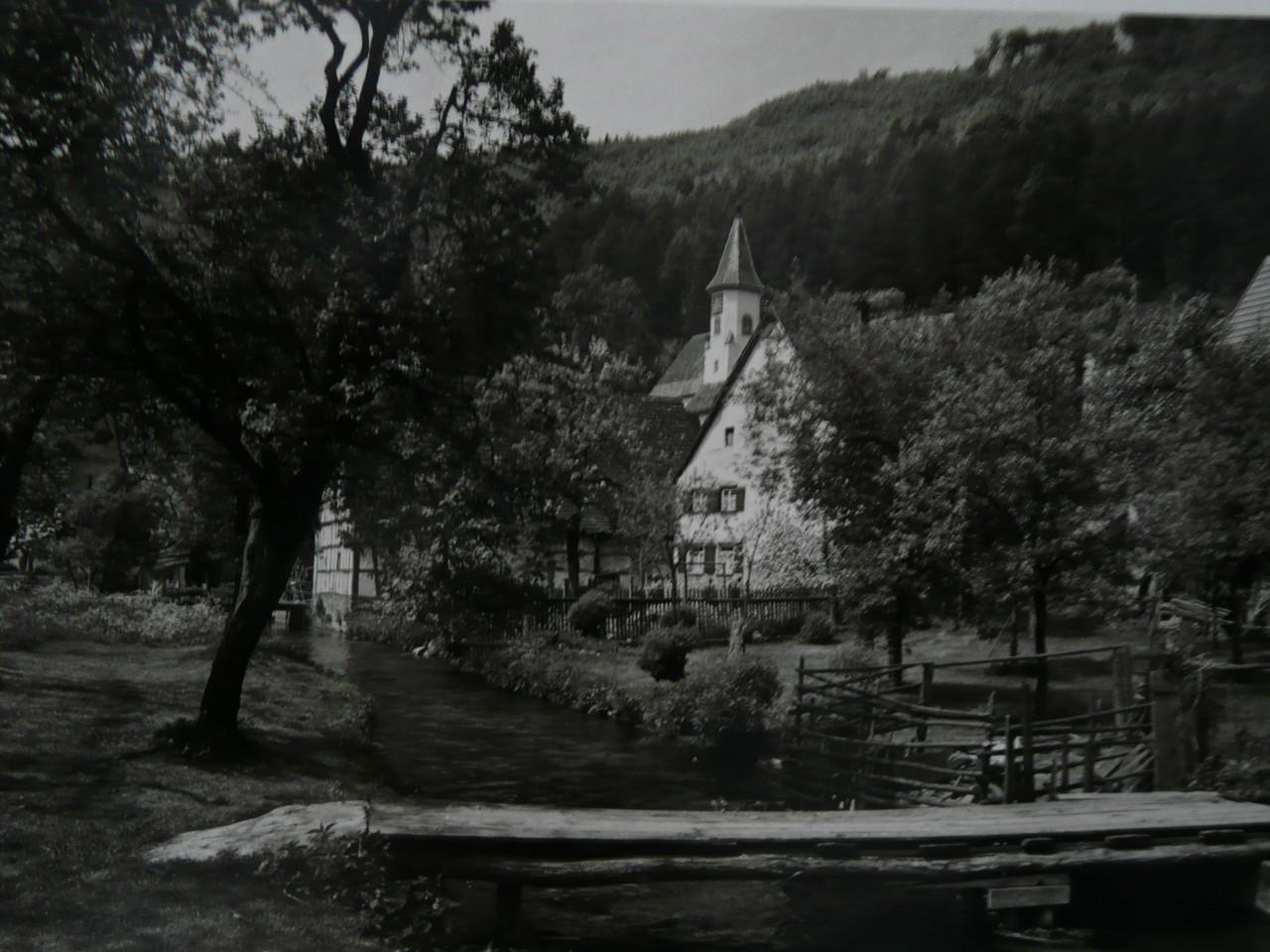 Wanglers Steg, 1946   Ansichtskarte der Gebr. Metz,Tübingen