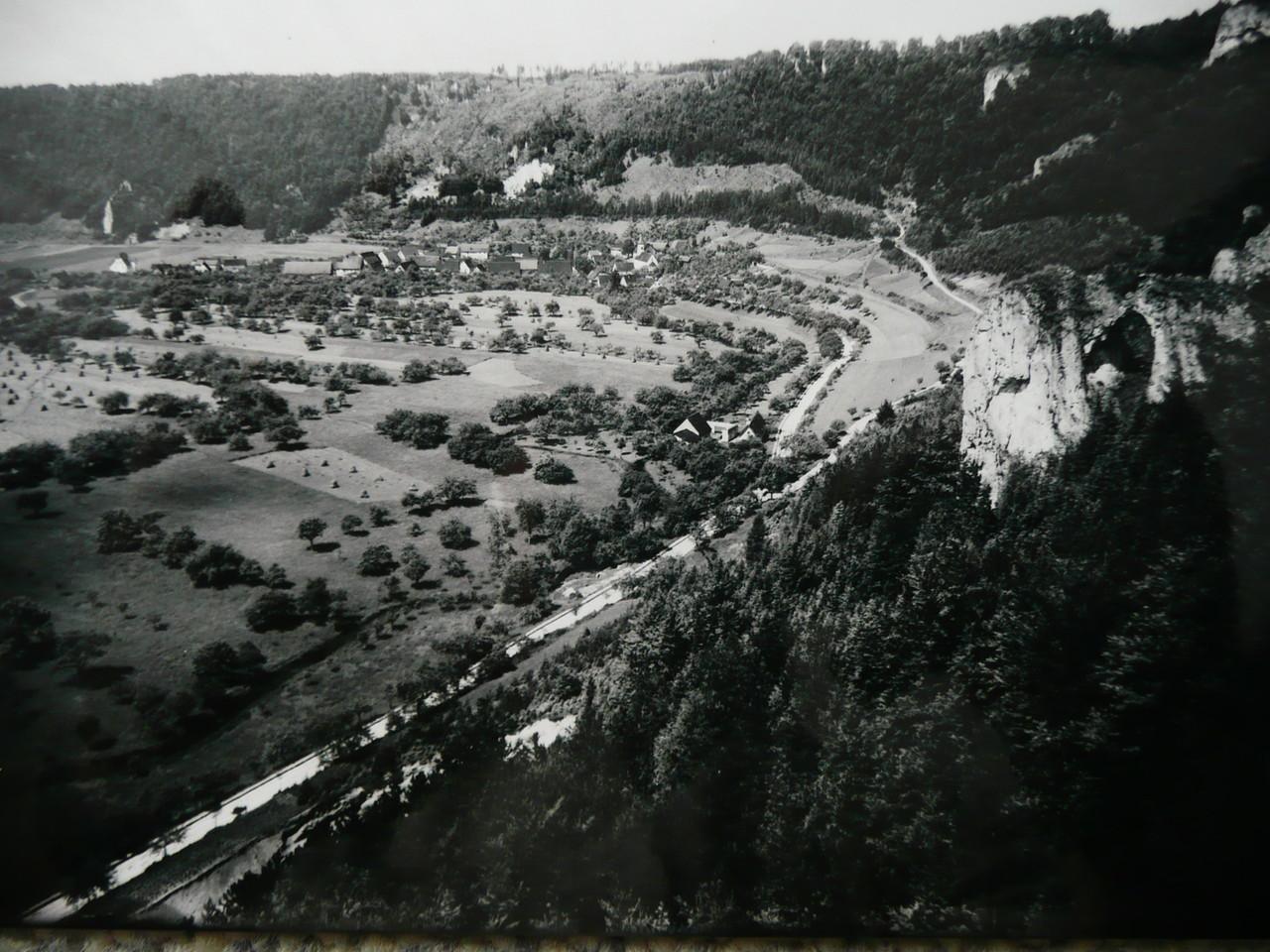 Küssende Sau, Weiler ,1928     Ansichtskarte der Gebr. Metz,Tübingen