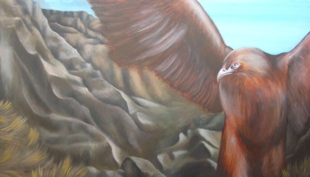musa/muse olio su tela, 50x70cm, olio su tela