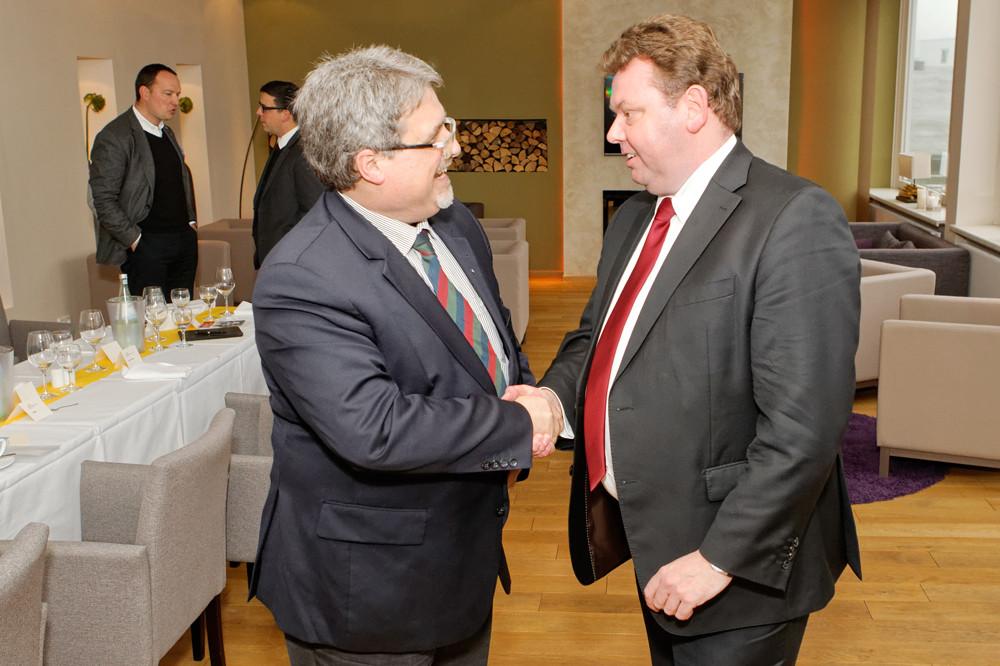 Klaus Voelcker und Andreas Bosk (v.l.)