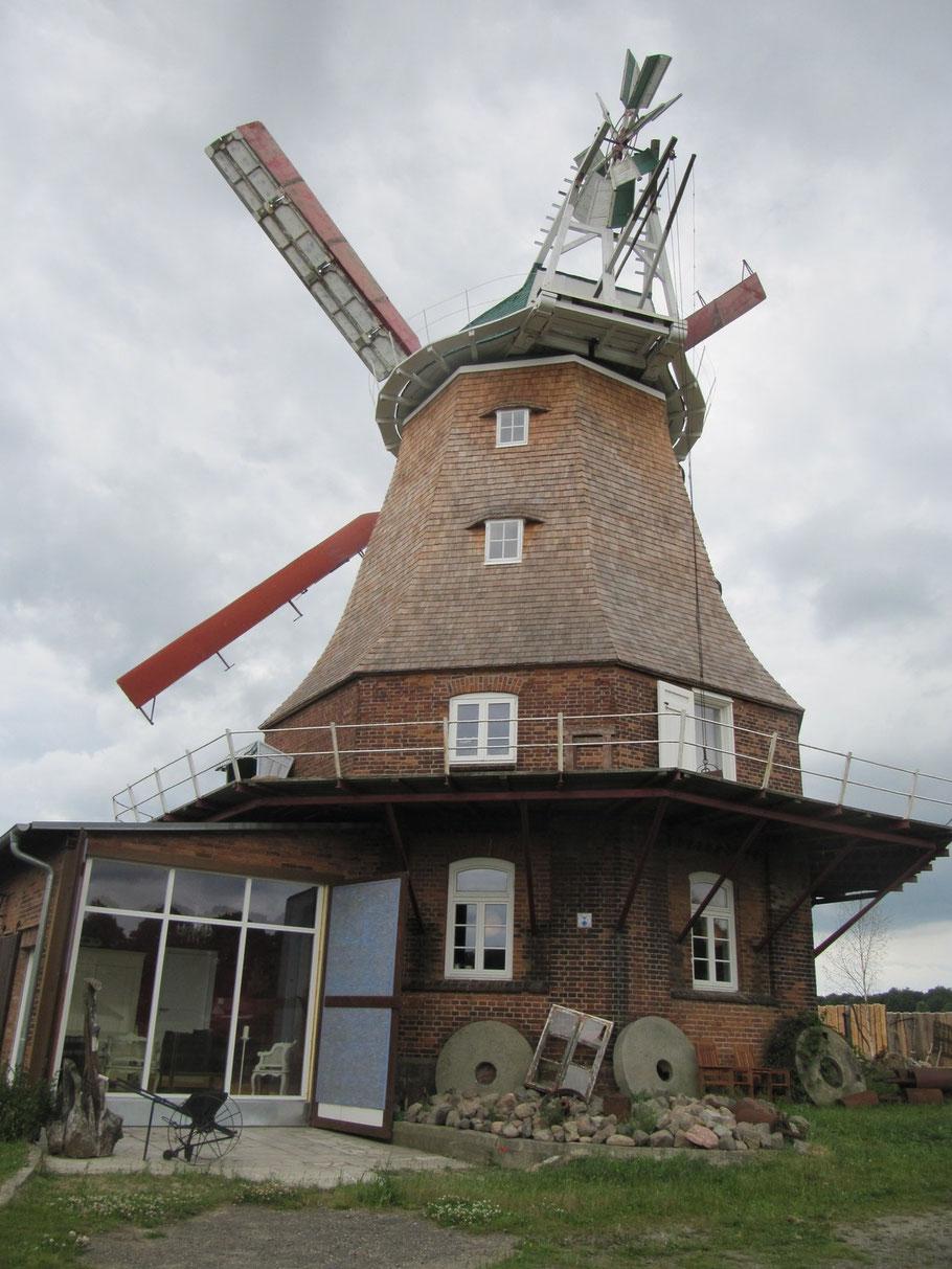 Die Mühle erstrahlt nun im neuen Gewand
