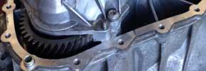 Multitronic-Getriebe (Ausschnitt)