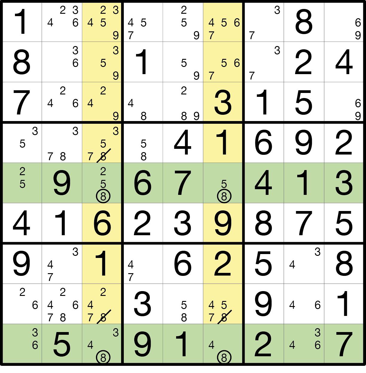 Sudoku Lösungsstrategie