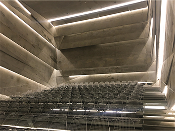 klangvolle Betonarchitektur im Konzersaal in Blaibach, Top Ten der Konzerhäuser weltweit