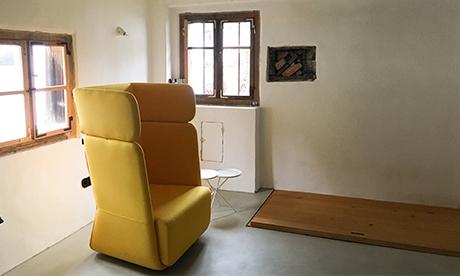 Innenansicht im alten Bestand des Waidlerhaus, Baukultur erhalten