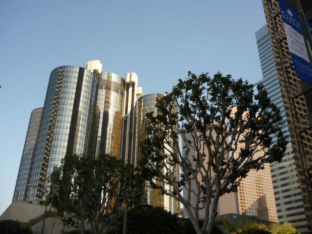 Das groesste Hotel in LA, das Bonaventure