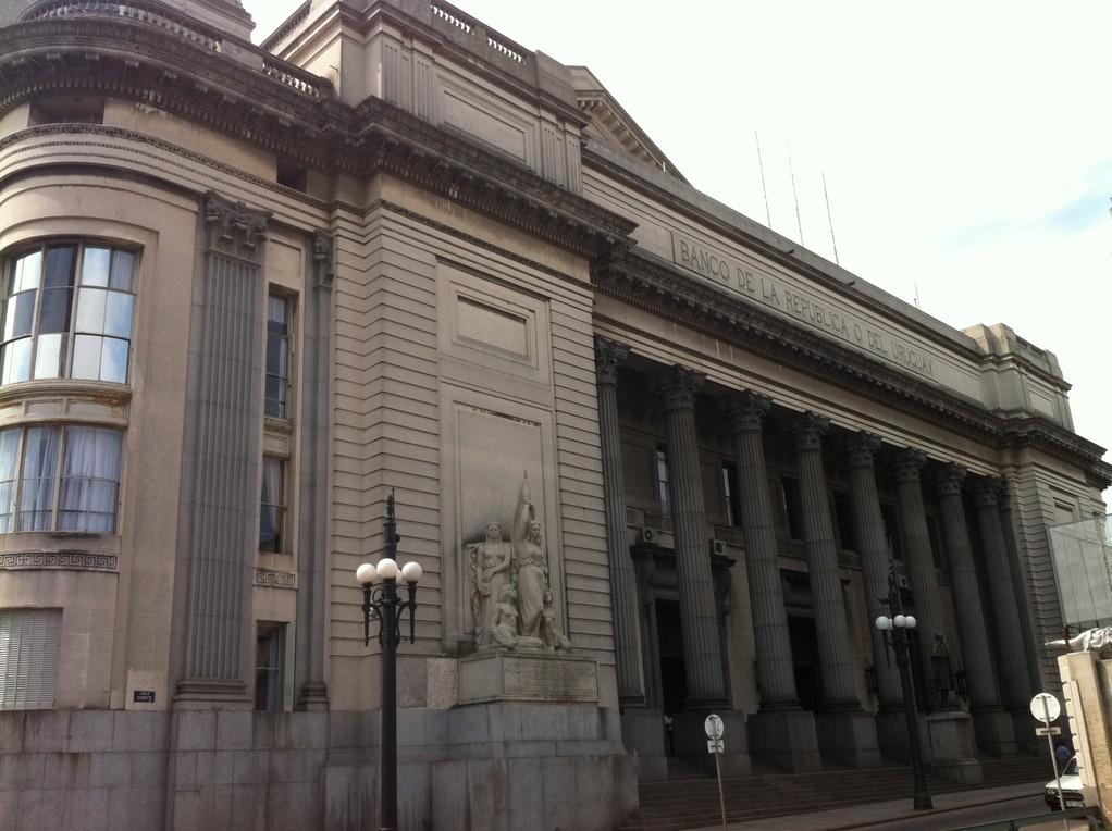 Das Zentrum von Montevideo