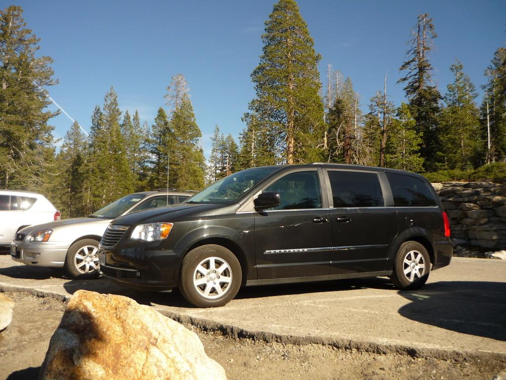 Unser neues Auto, der 7plaetzige Chrysler
