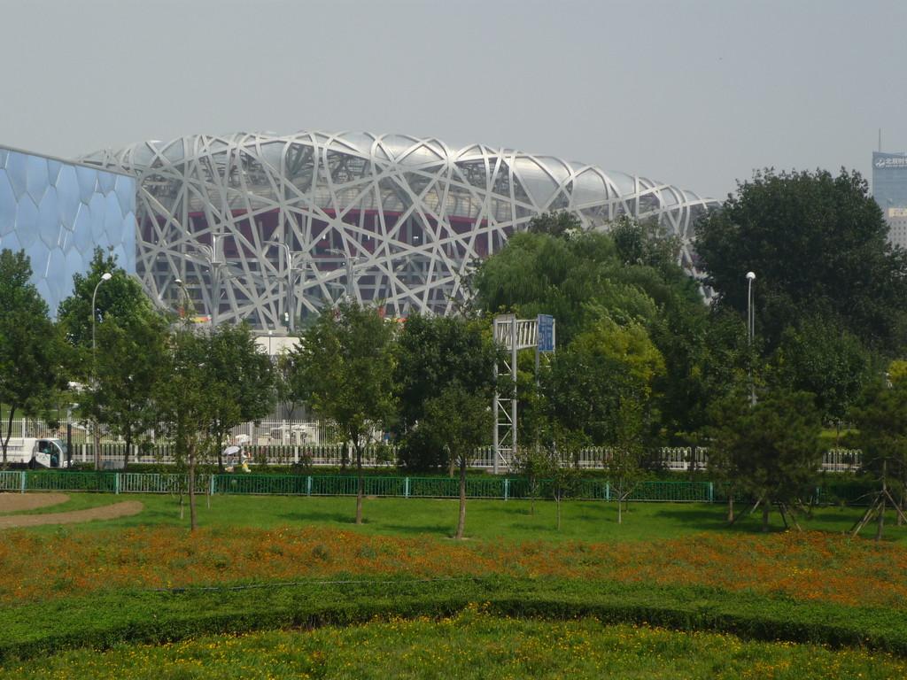 """The Bird's Nest"", gebaut fuer die Olympiade"