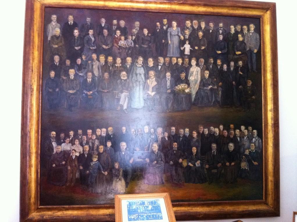 Die Einwohner von 1810