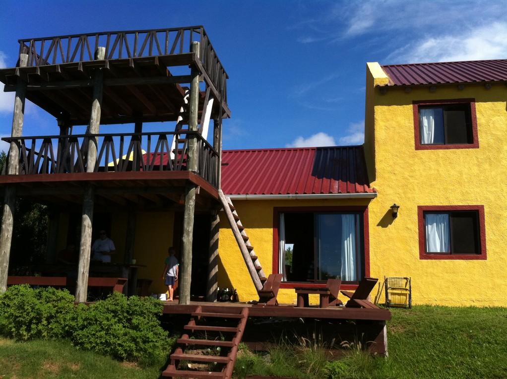 """Das """"Hostel de la Viuda"""" in Punta del Diablo"""