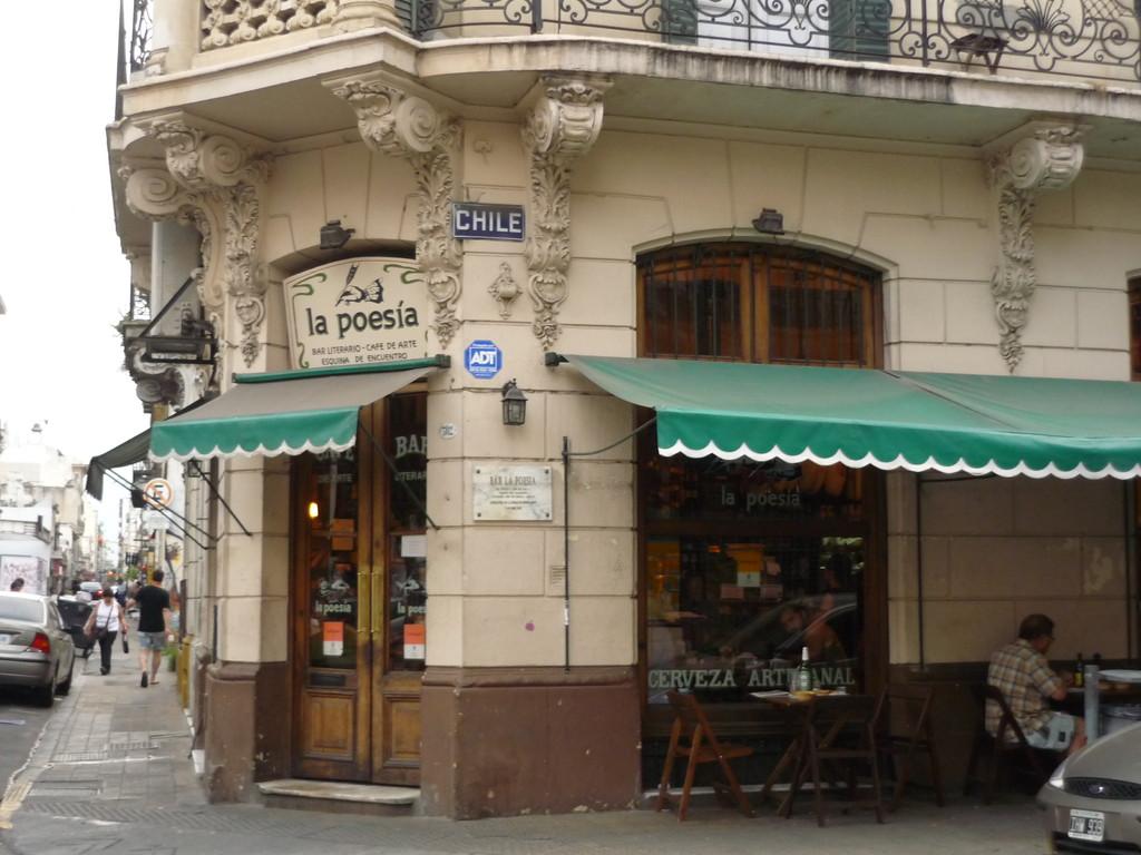 Alle diese alten Haeuser in Buenos Aires, ein Traum