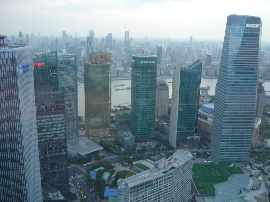 Blick vom Jinmao Tower