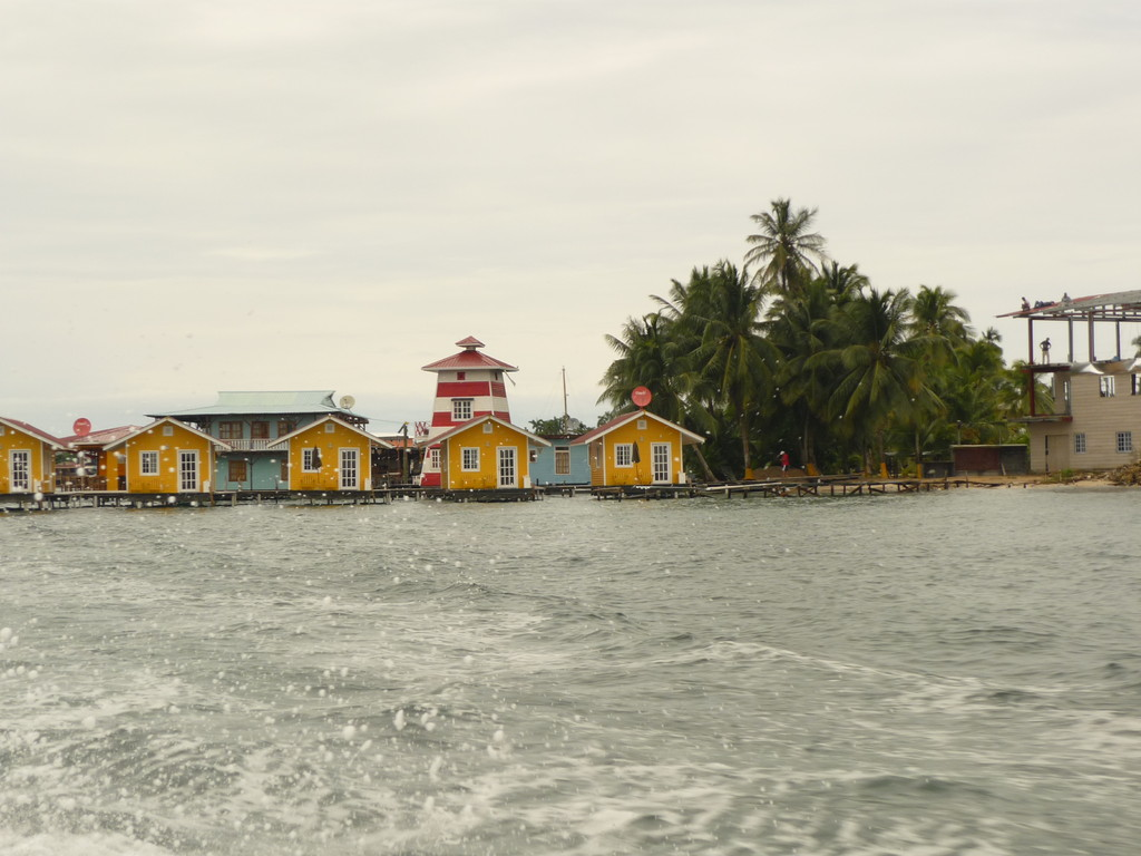 Bocas del Toro, das sind hunderte von Inseln, die meisten unbewohnt...