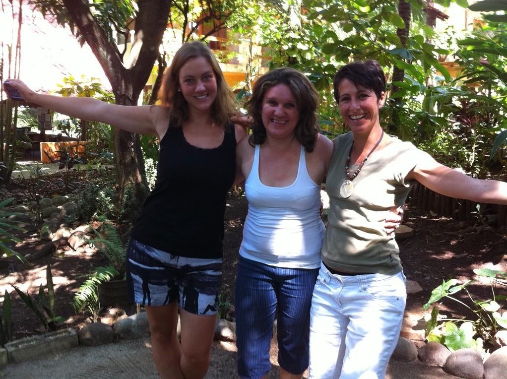 Charrua, Silvia and myself
