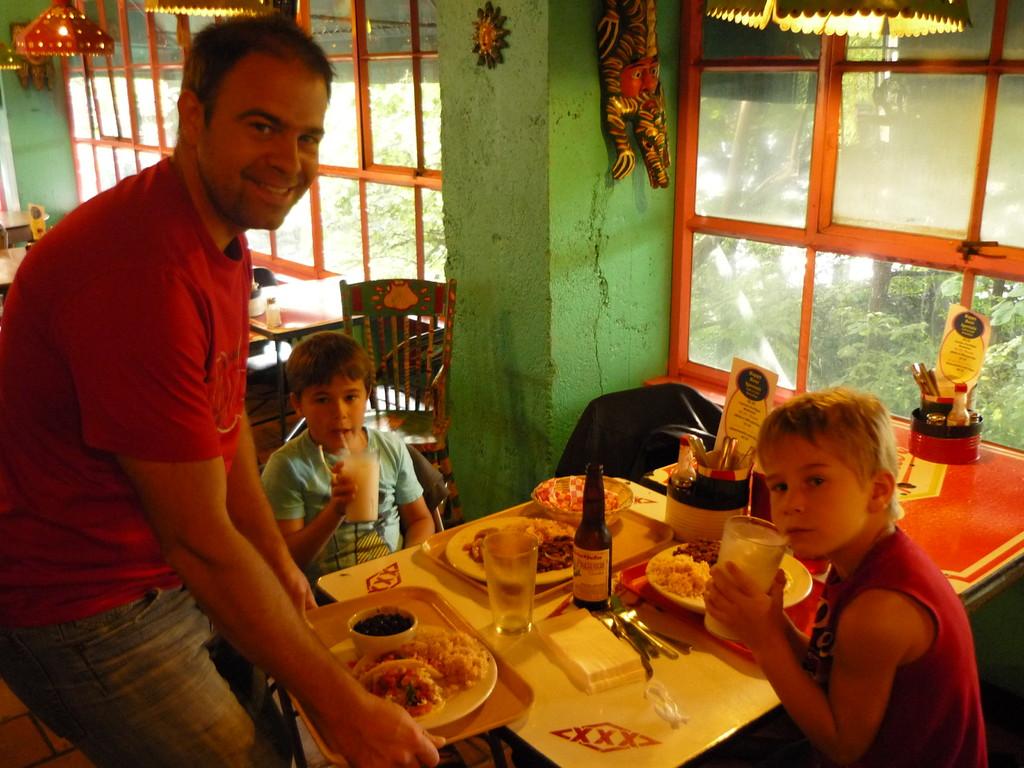 Mexikanischer Lunch im Markt