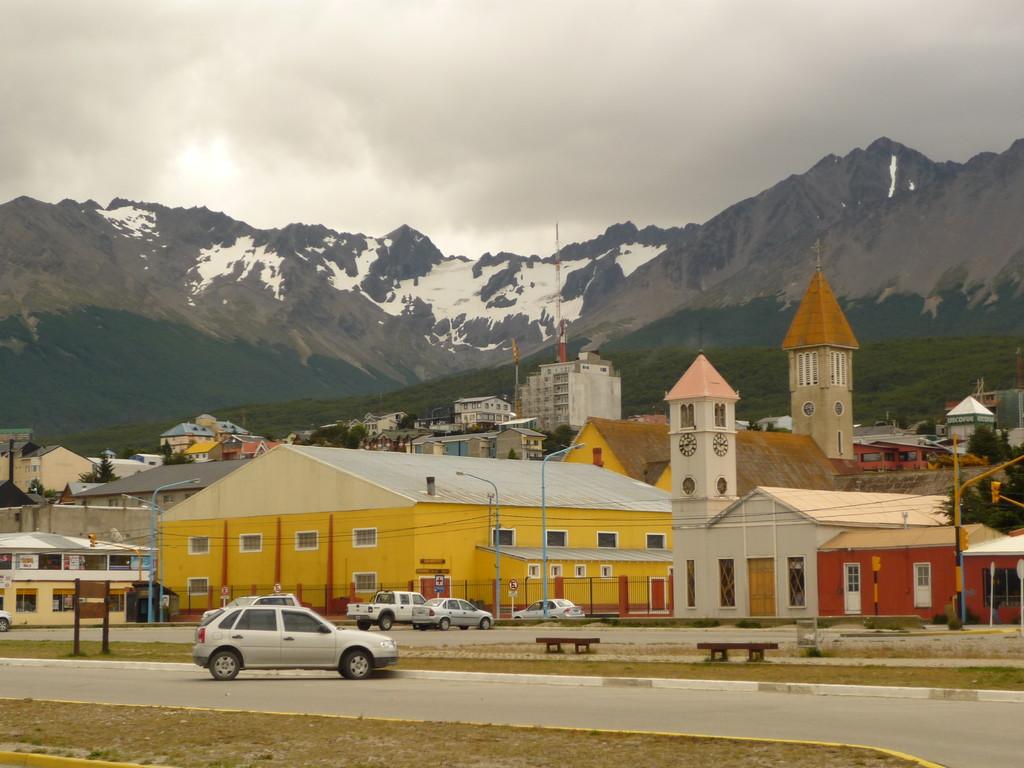 Ushuaia, zwischen Bergen, Gletschern und Meer