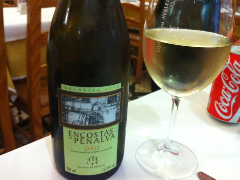 Mmmmh, der Weisswein aus dem Dão ist super!