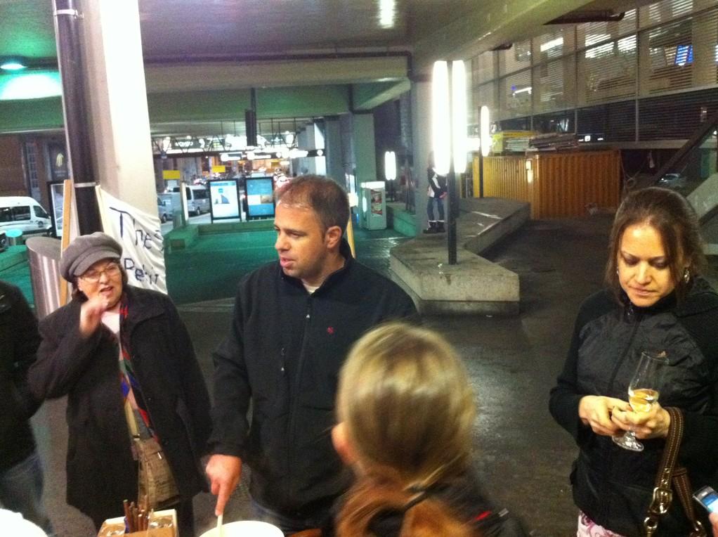 Meine andere liebste Schwägerin Karla und Jean-Marc mit Steffi sind auch dabei