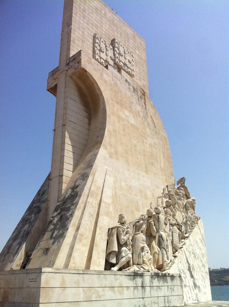 """""""Padrão dos Descobrimentos"""", das Denkmal der Entdecker des 15. und 16. Jhs..."""