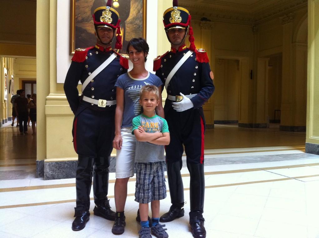 Zu Besuch bei der Praesidentin (Cristina Kirchner)...