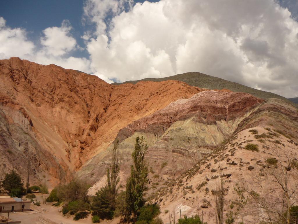 """Die 7farbigen Felsen """"Cerro de los 7 colores"""""""