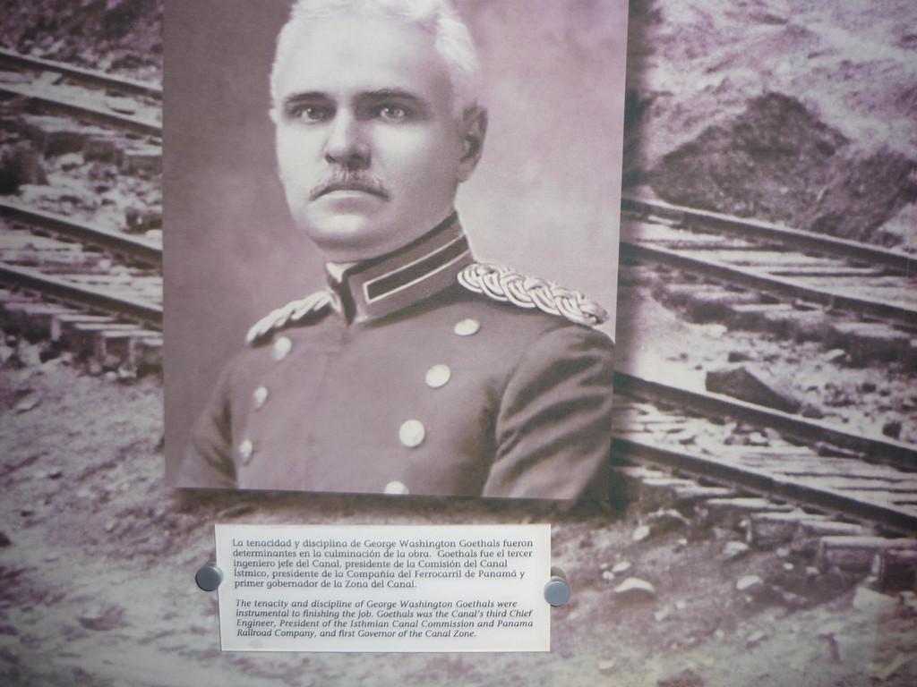 Die Amerikaner, unter George Washington Goethals, vollendeten den Bau 1914