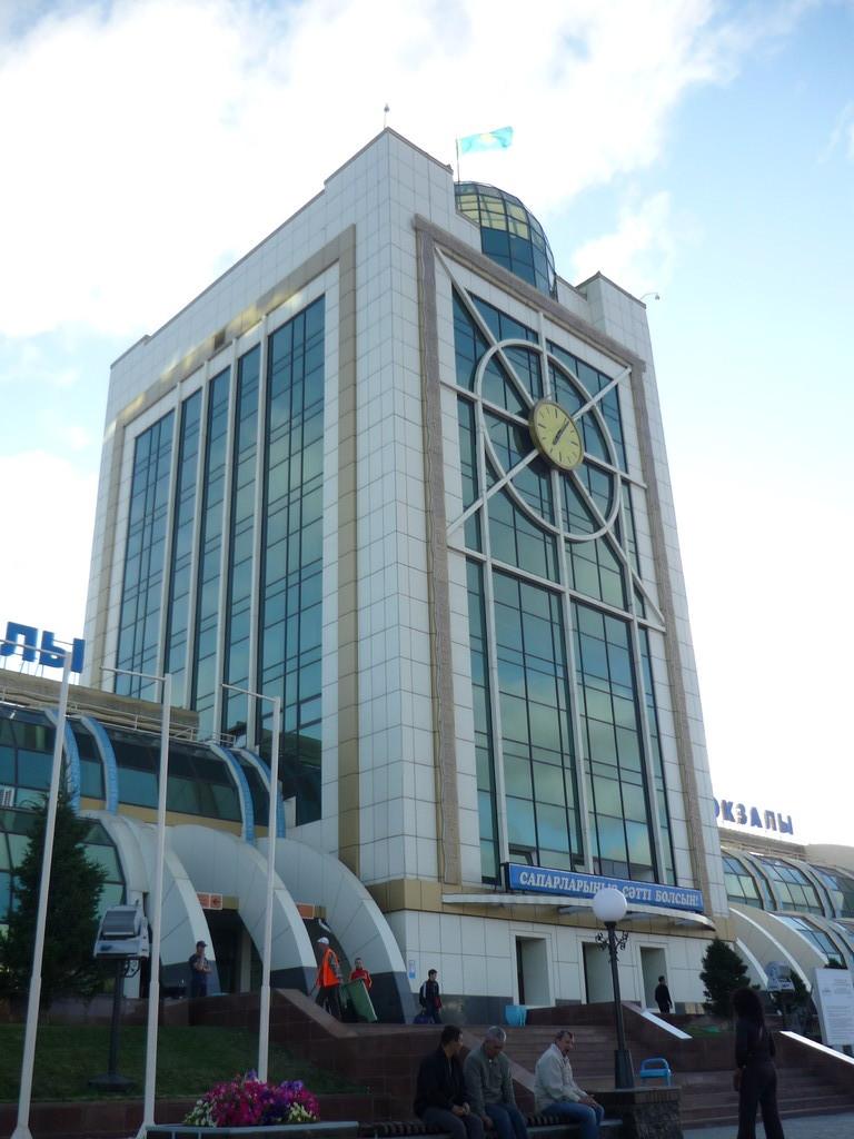 Der Bahnhof von Astana