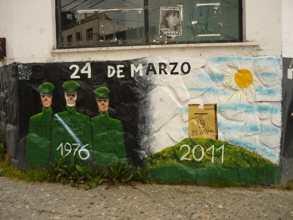 Die Geschichte Argentiniens ist zu verarbeiten
