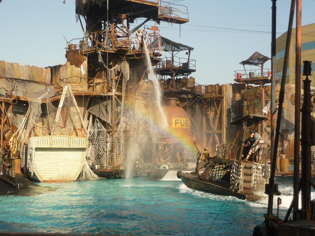 Waterworld, ein cooler Film und eine Mega Show
