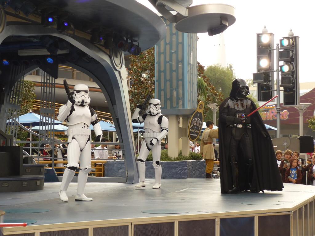 Darth Vader rekrutiert Ritter