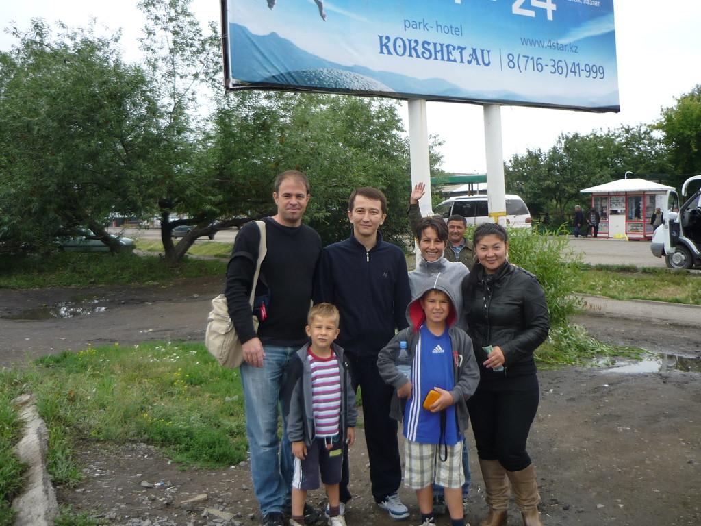 Unsere liebe Gast-Familie am Burabay See