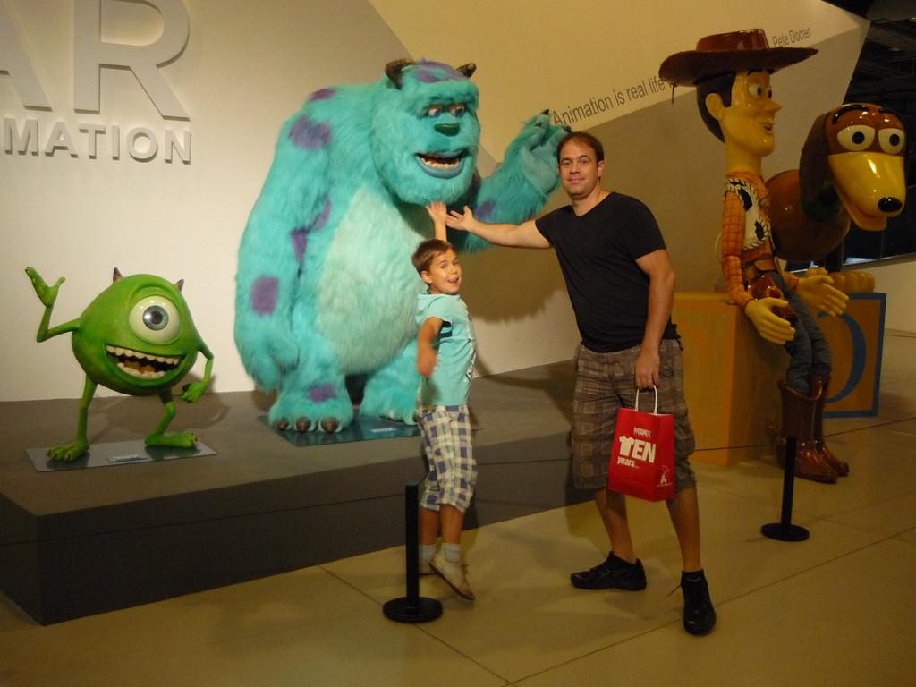 Die Pixar Ausstellung im Museum of Modern Arts Shanghai