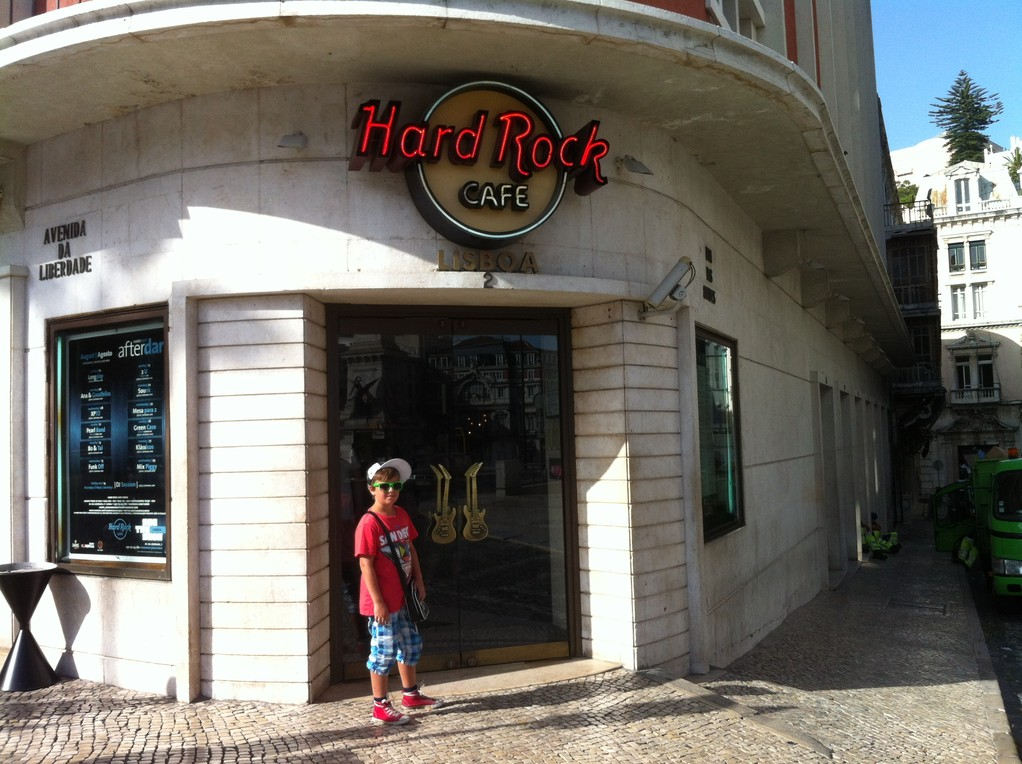 Das erste Mal in einem Hard Rock Café (vermutlich nicht das letzte)