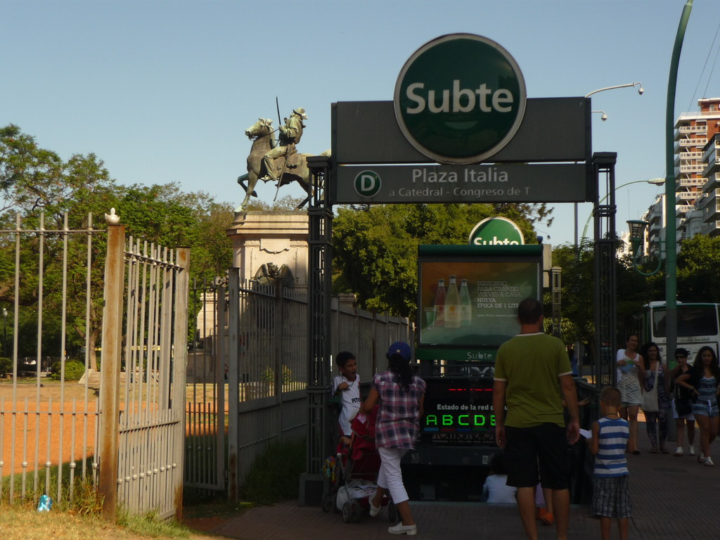 Die Metro von Buenos Aires
