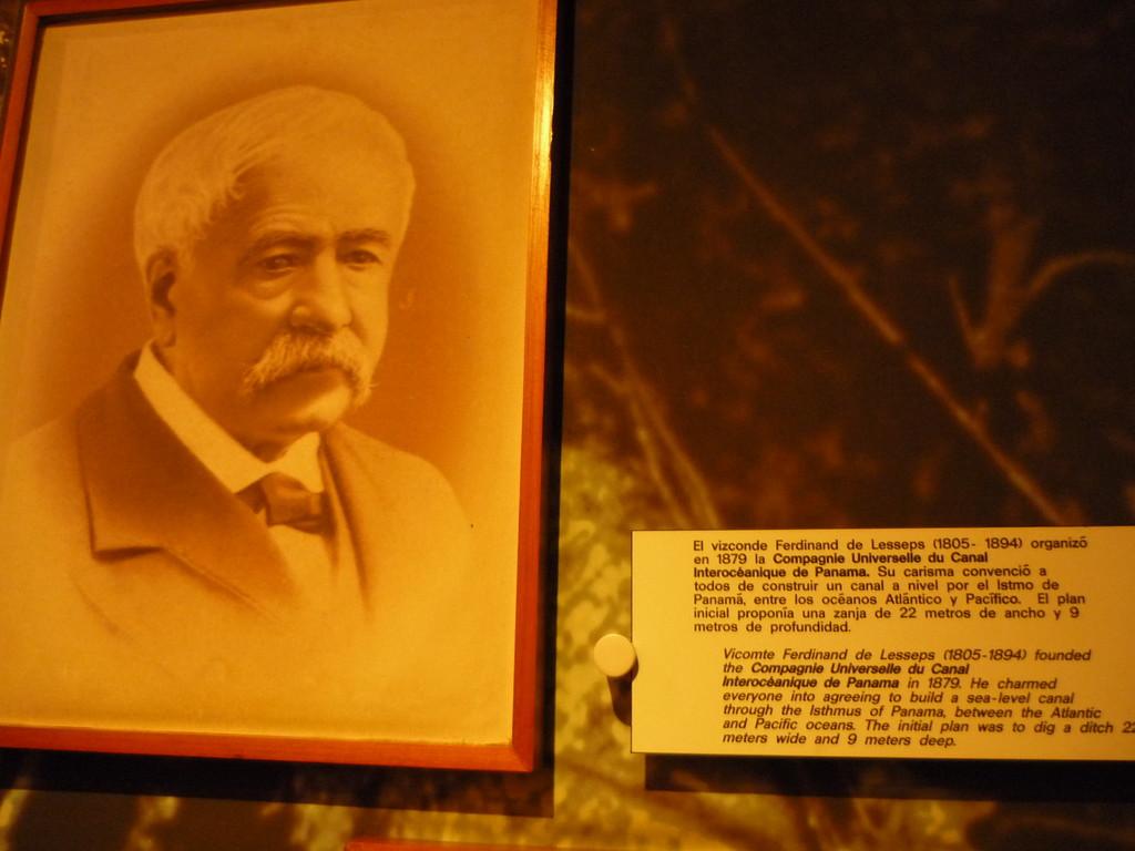 Der Franzose Ferdinand de Lesseps war der erste Baumeister des Kanals