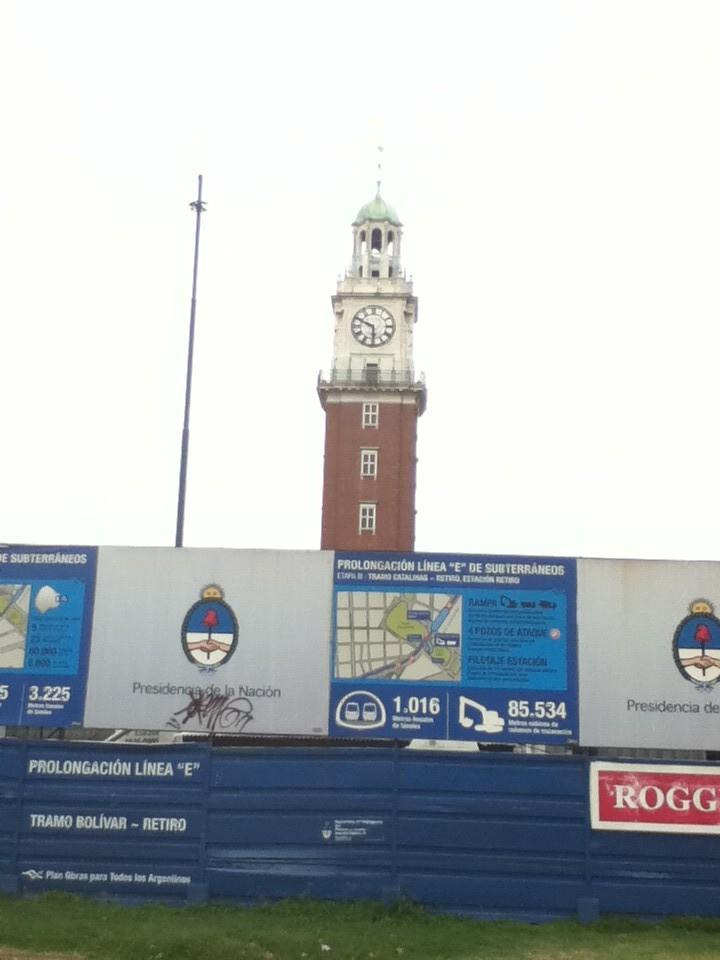 Der Englische Turm, offeriert zum 100 jaehrigen Geburtstag 1910