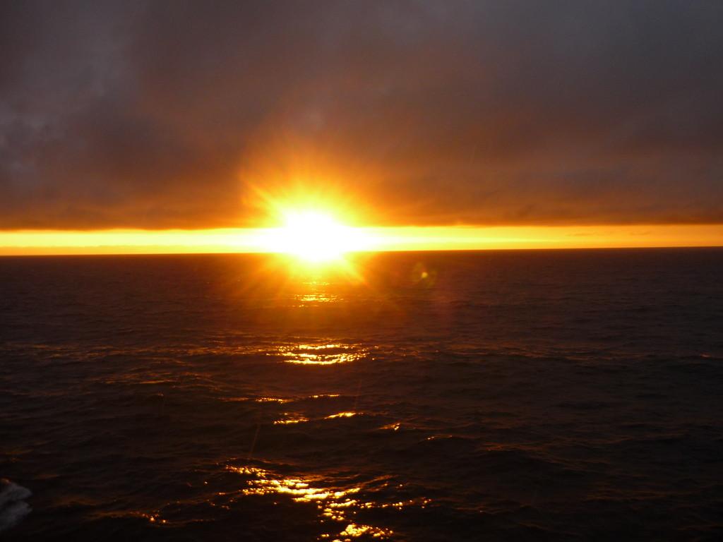 Traumhafte Sonnenuntergaenge