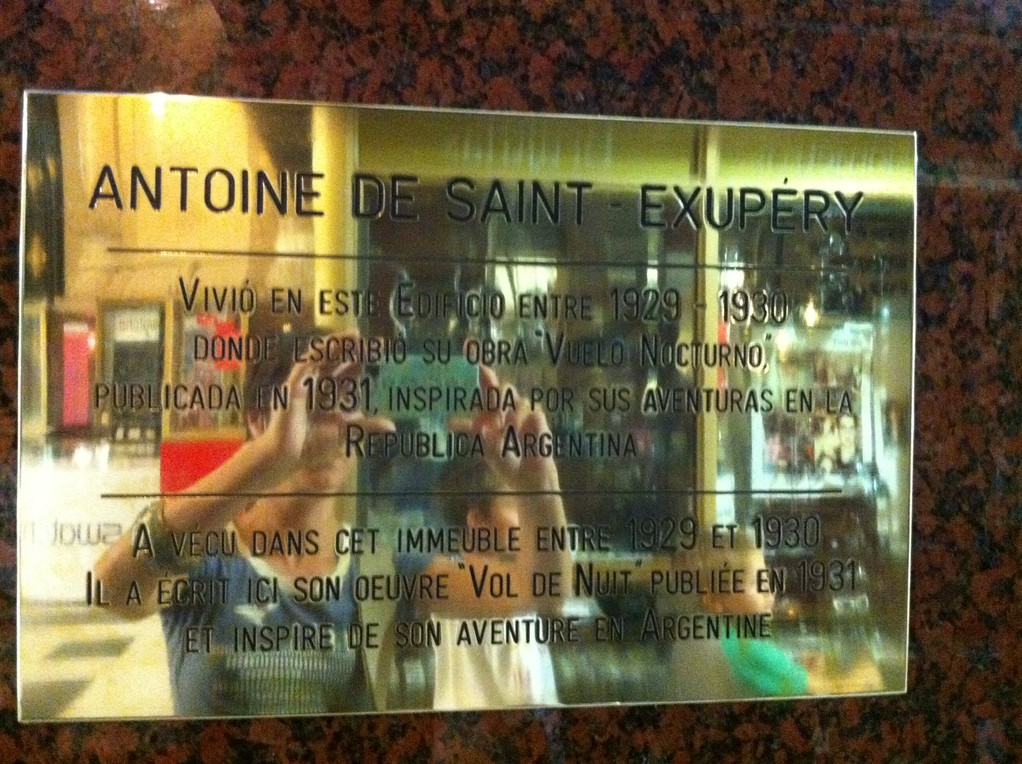 ... in dem einst Antoine de St. Exupéry wohnte