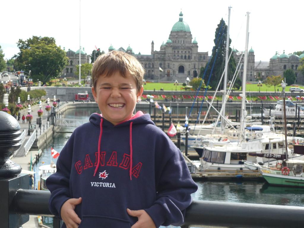 Victoria, die Hauptstadt British Columbias