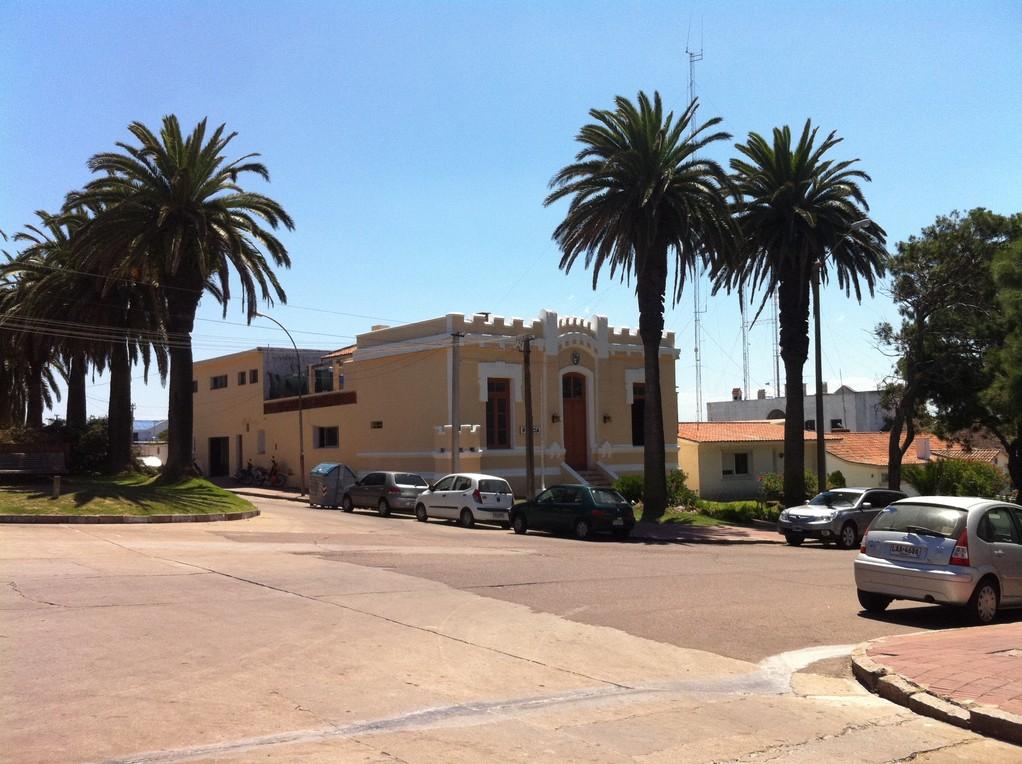 Das Polizeigebaeude und Tourist Center