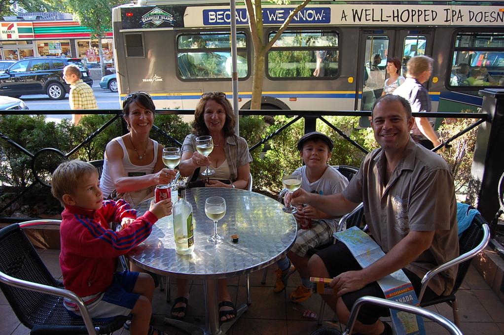 Familientreffen in Vancouver